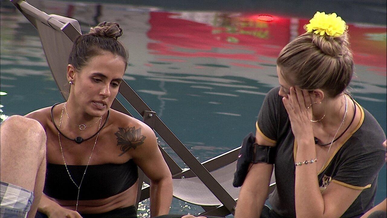 Carolina sobre conversa com Tereza: 'Não senti verdade'