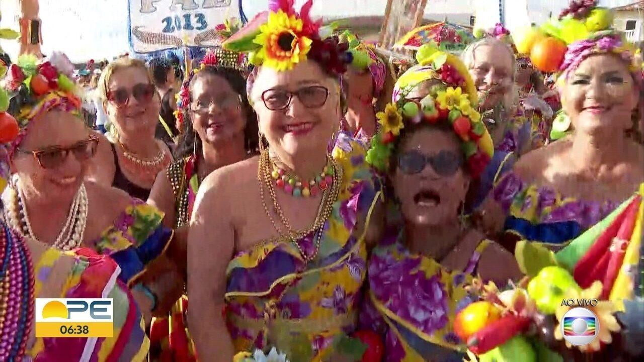 Bloco Poderosas do Janga dá a largada para a folia em Paulista