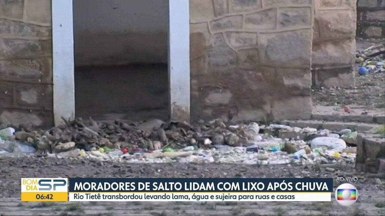 Ponto turísticos de Salto estão interditados por causa da sujeira