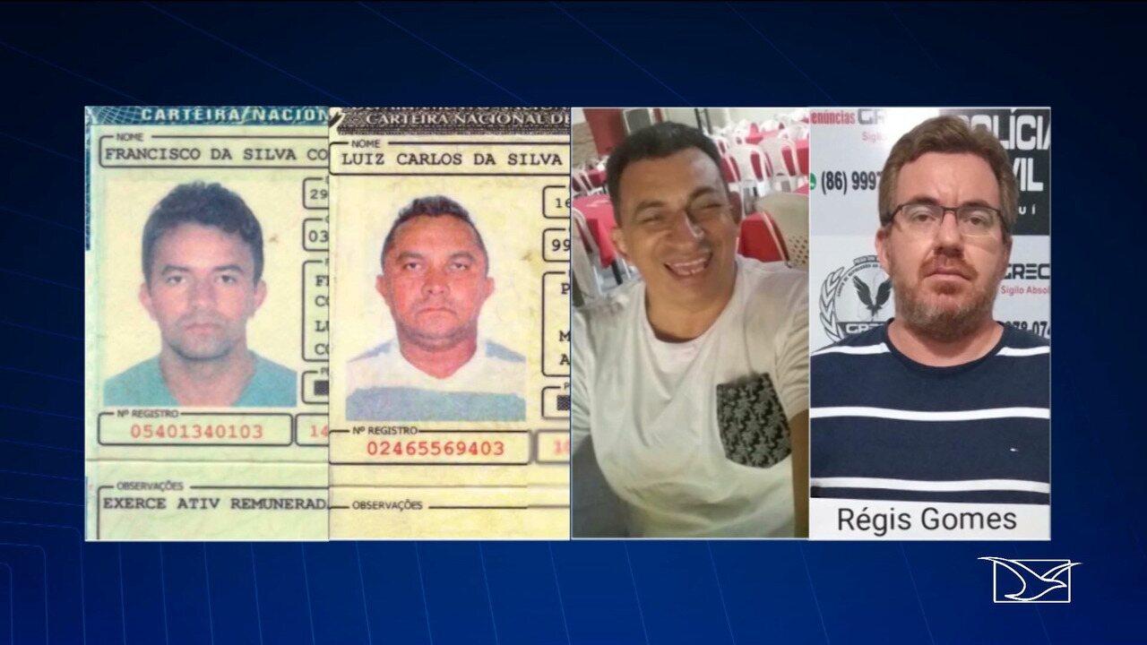 Quatro pessoas são presas por suspeita de envolvimento com roubo de cargas no MA