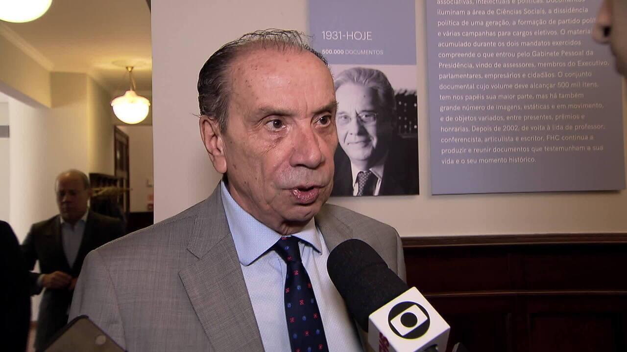 VEJA VÍDEO: Aloysio Nunes nega envolvimento em esquema de propina