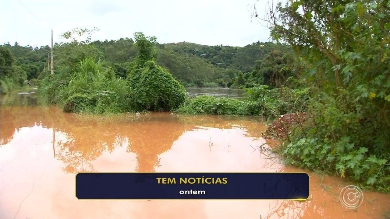 Bairros atingidos pela cheia do Rio Tietê começam a voltar ao normal em Araçariguama