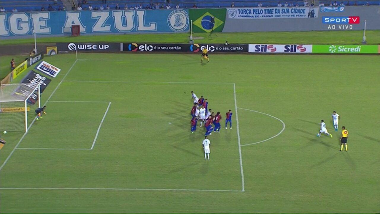 Confira os melhores momentos de Londrina 1x1 (5x4) Paraná 8f3983083fedd