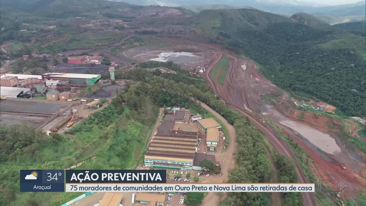 Emergência - Vale anuncia retirada de moradores em Nova Lima e Ouro Preto