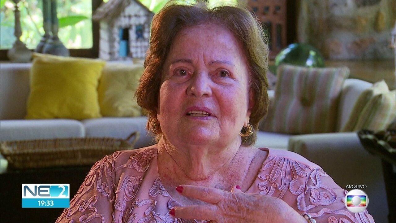 Morre no Recife a cofundadora do Grupo Moura, aos 89 anos