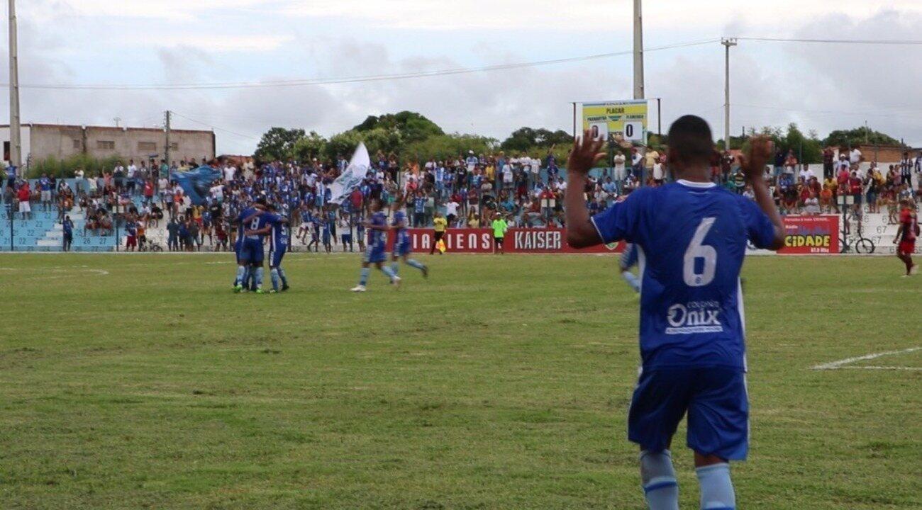 Parnahyba abre o placar sobre o Flamengo-PI no primeiro tempo; veja o gol