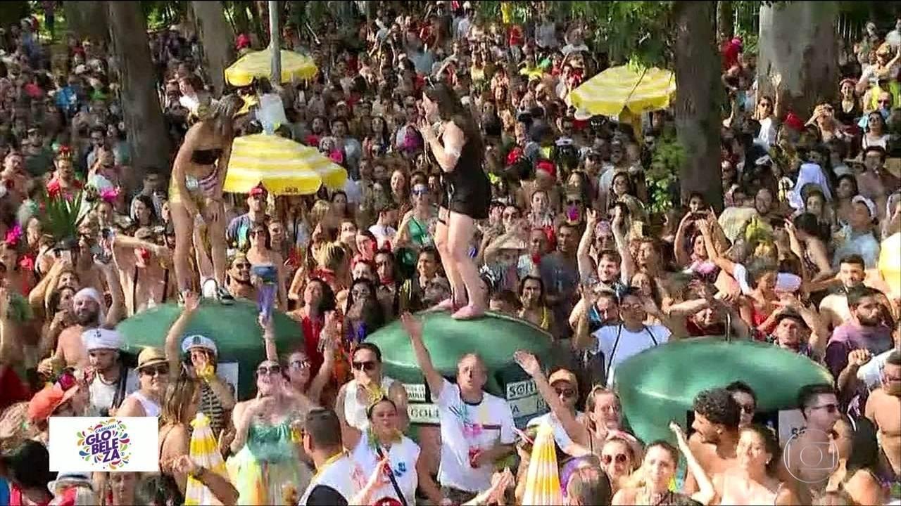 Pré-carnaval agita São Paulo