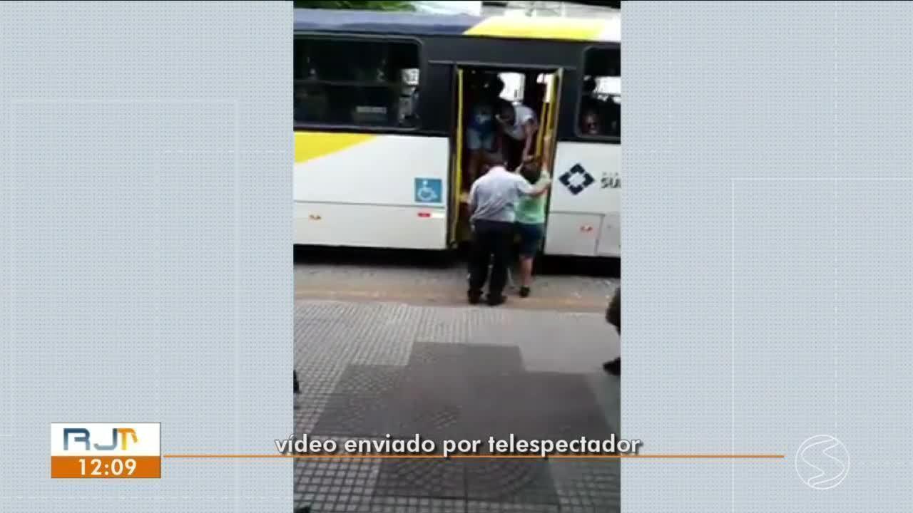 Resultado de imagem para Problema com acessibilidade de ônibus gera transtorno em Volta Redonda