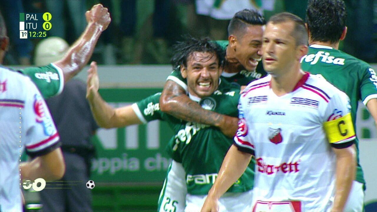 Melhores momentos: Palmeiras 3 x 2 Ituano pela 9ª rodada do Campeonato Paulista 2019