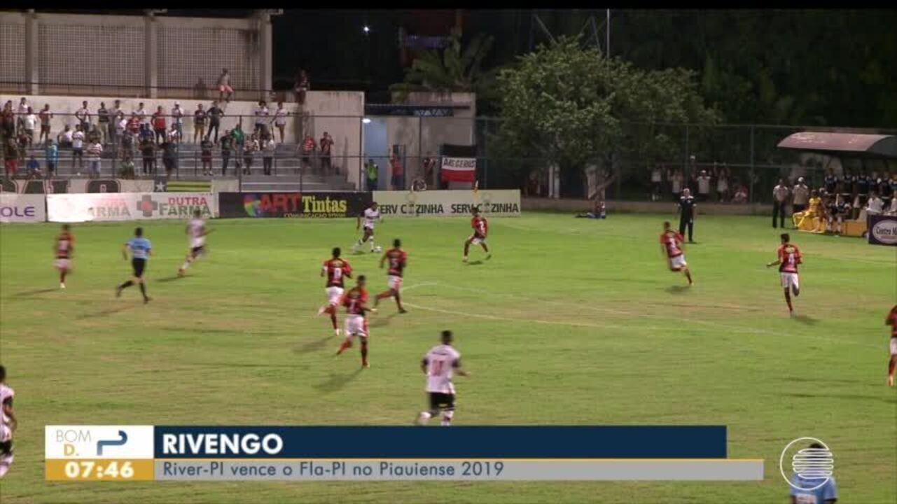 River vence o Flamengo-PI no Piauiense 2019