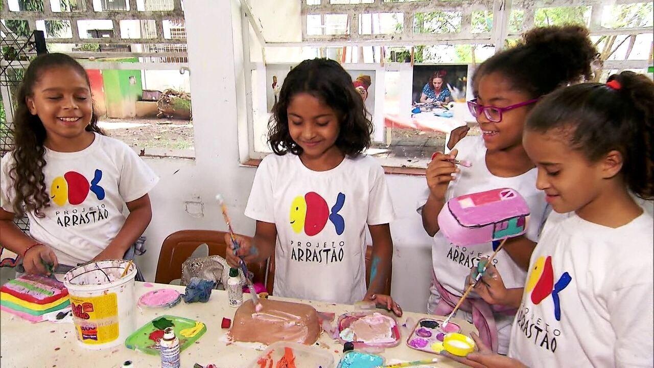 Veja na íntegra: projeto Arrastão faz a diferença no bairro de Campo Limpo (SP)