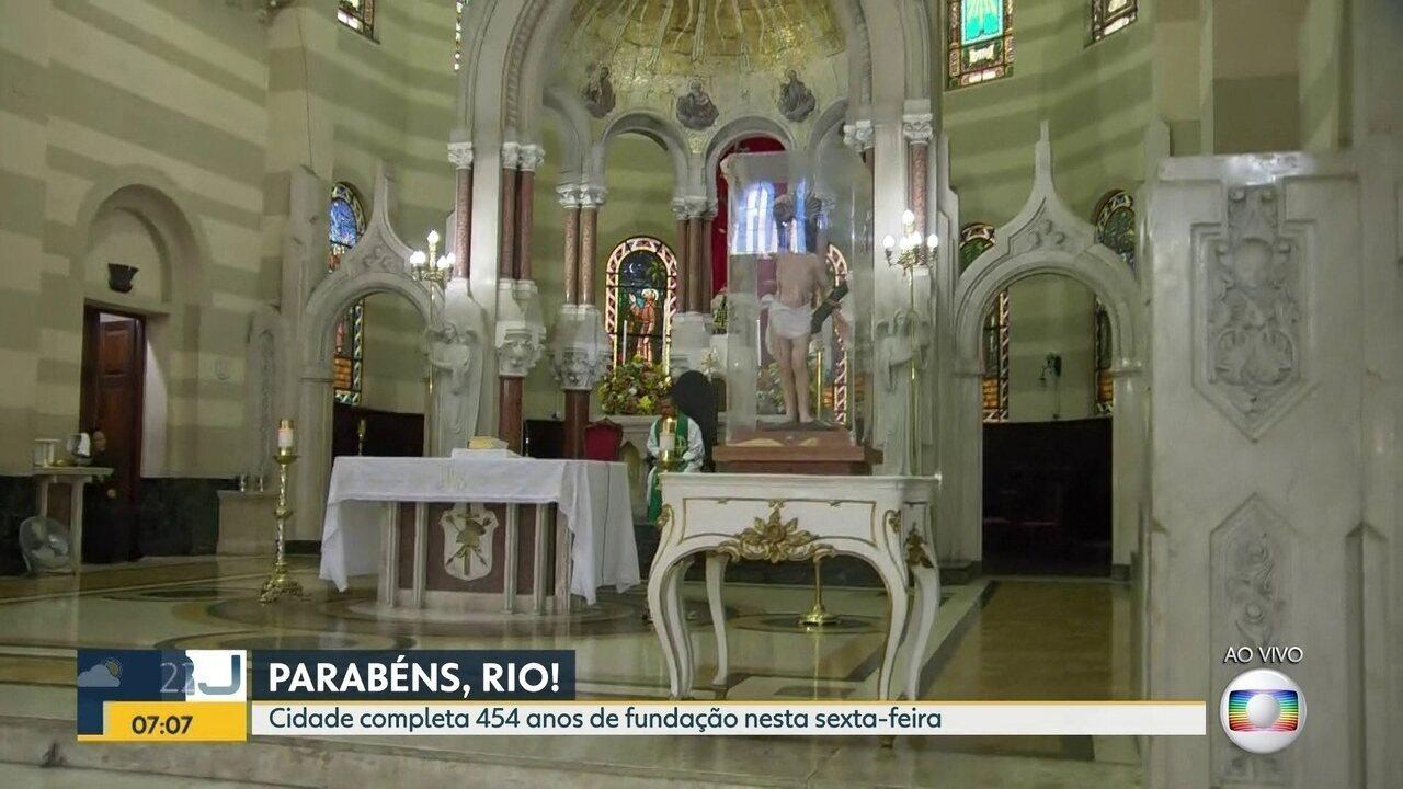 Cidade do Rio completa 454 anos de fundação