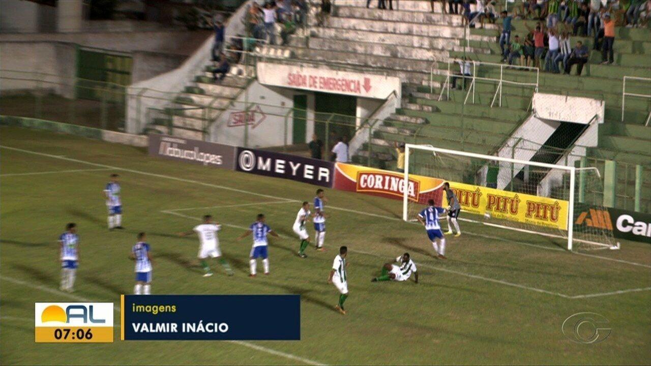 Jaciobá atropela o Murici e aplica goleada de 4x1