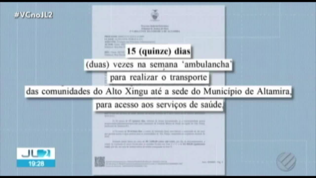 Prefeitura de Altamira, no PA, é obrigada a garantir acesso à água potável e saúde