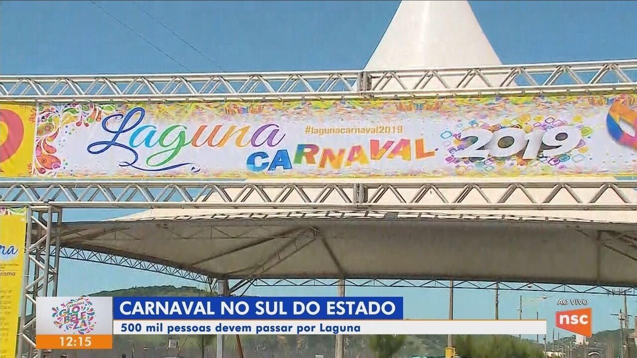 Confira a programação do carnaval do Sul de SC