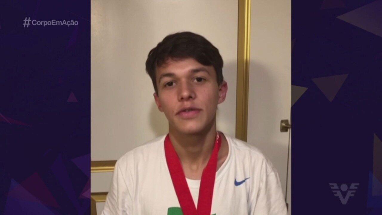 Nathan Torquato garante vitória no US Open de Taekwondo