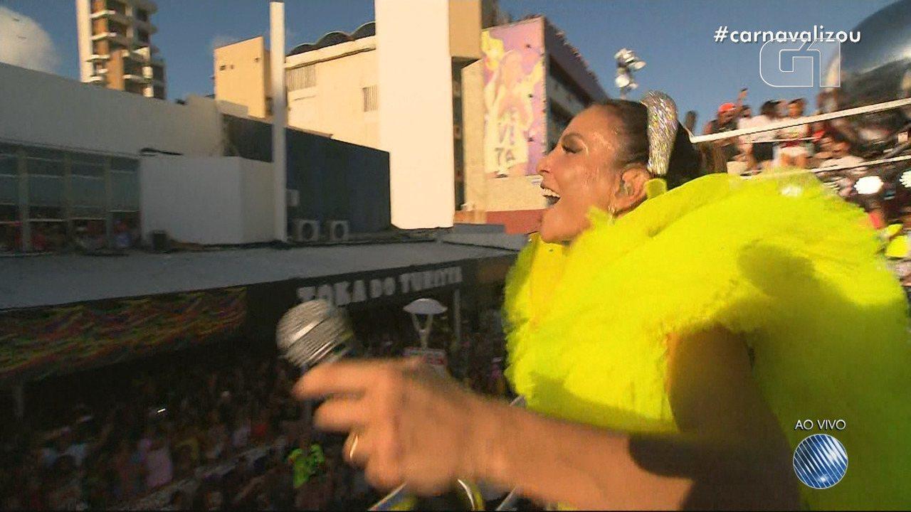 Carnaval 2019: Ivete canta 'Teleguiado' na Barra