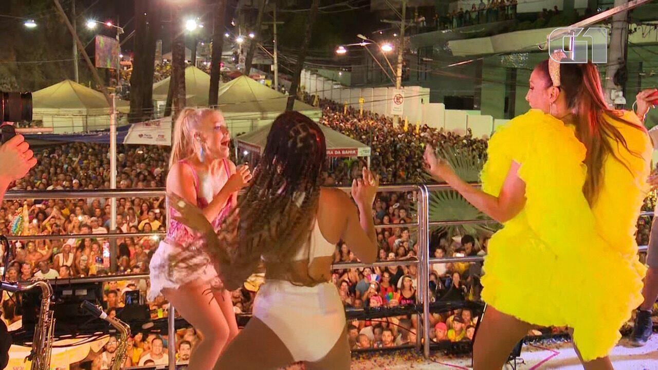 Carnaval 2019: Luisa Sonza canta 'Devagarinho' no trio de Ivete