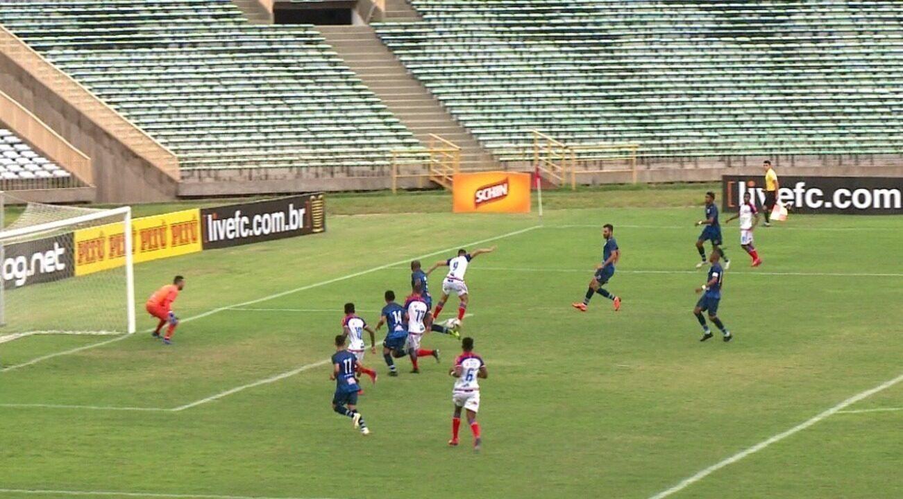 Os gols e melhores momentos de Altos 0 x 5 Bahia pela quinta rodada da Copa do Nordeste