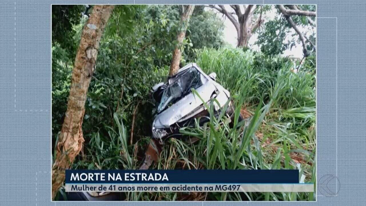 Mulher morre após acidente na MG-497 em Iturama