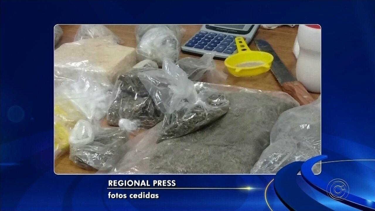 Polícia estoura laboratório de refino de cocaína e dois são presos em Araçatuba