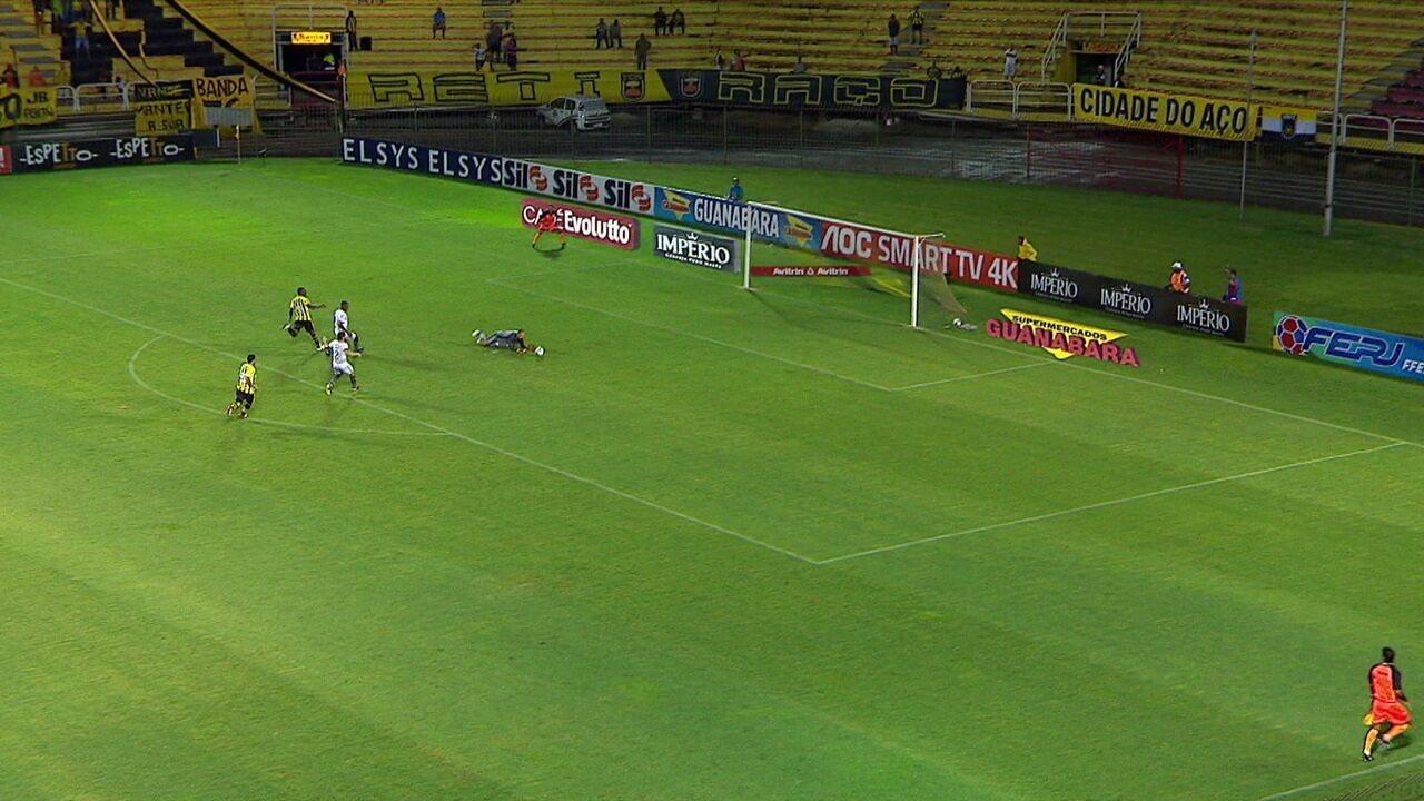 Melhores momentos de Volta Redonda 1 x 0 Botafogo pelo Campeonato Carioca