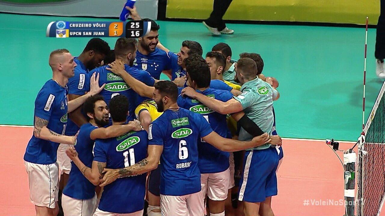 É hexa! Cruzeiro vence o UPCN e vira o maior campeão sul-americano ... ccde4ccd109