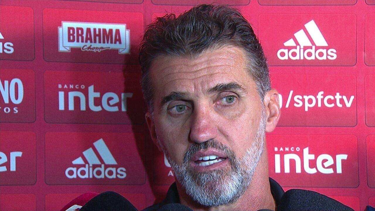 Veja a entrevista de Vagner Mancini depois da vitória do São Paulo sobre o Bragantino
