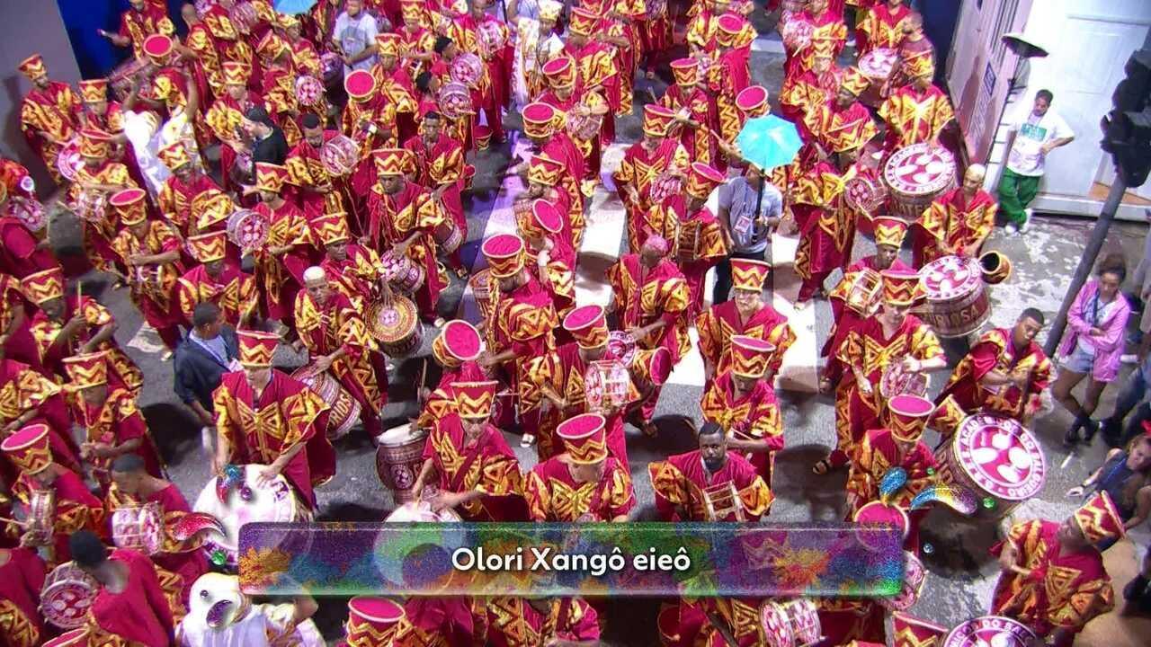Samba-enredo do Salgueiro é uma saudação a Xangô