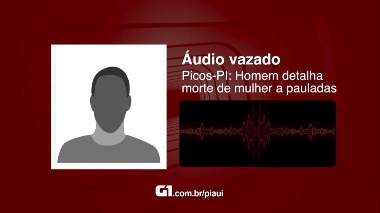Homem detalha briga e assassinato de mulher pauladas em Picos - Piauí