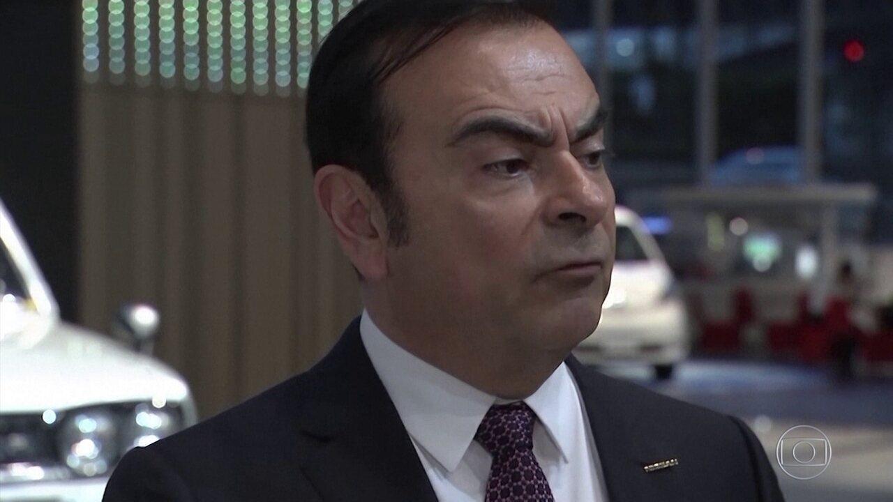 Justiça do Japão concede liberdade sob fiança a Carlos Ghosn