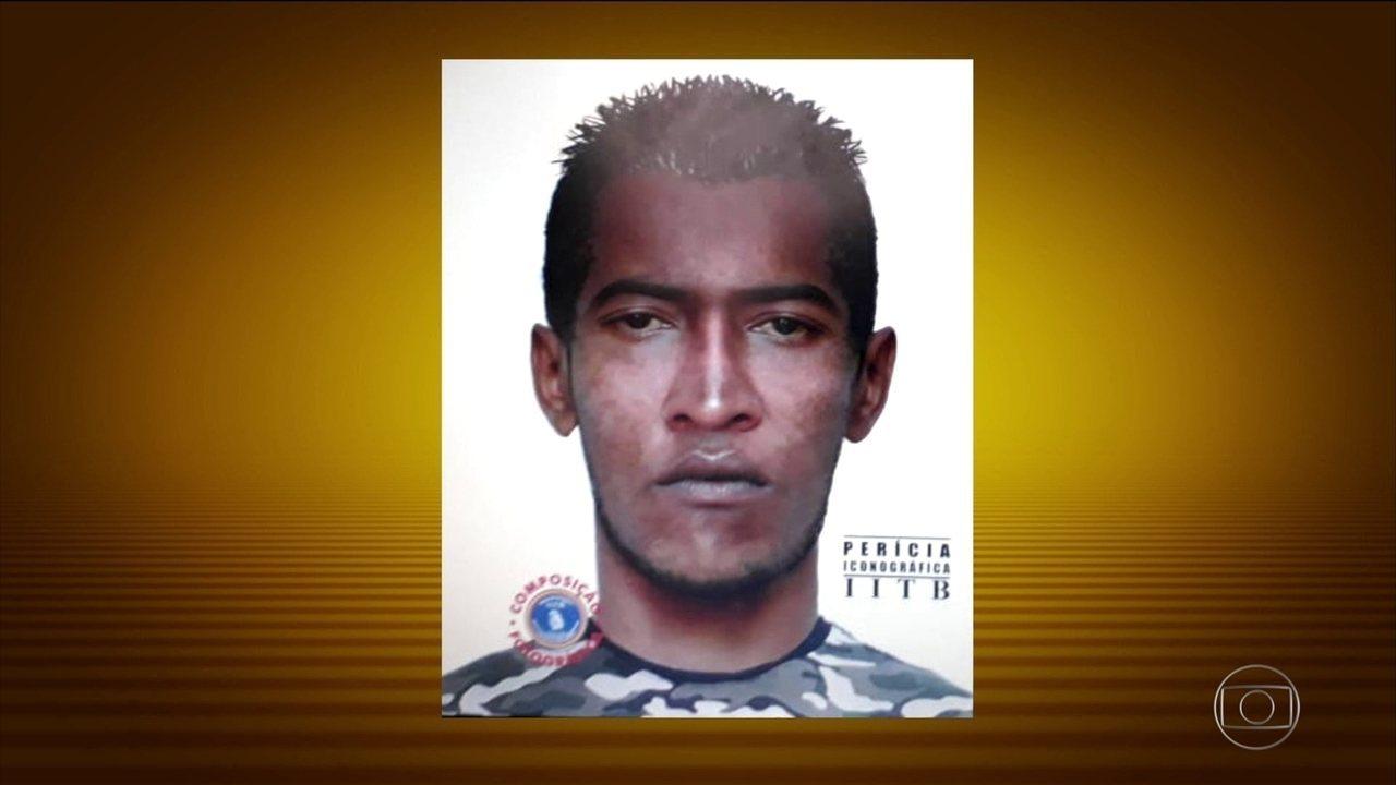 Polícia divulga retrato falado de suspeito dos ataques com agulhas no carnaval de PE