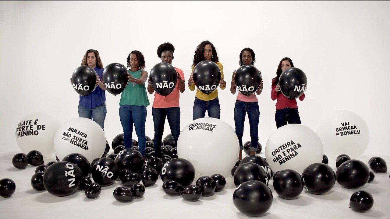 Tudo começa pelo respeito: Mulheres relembram preconceitos e obstáculos para poderem praticar os esportes que amam