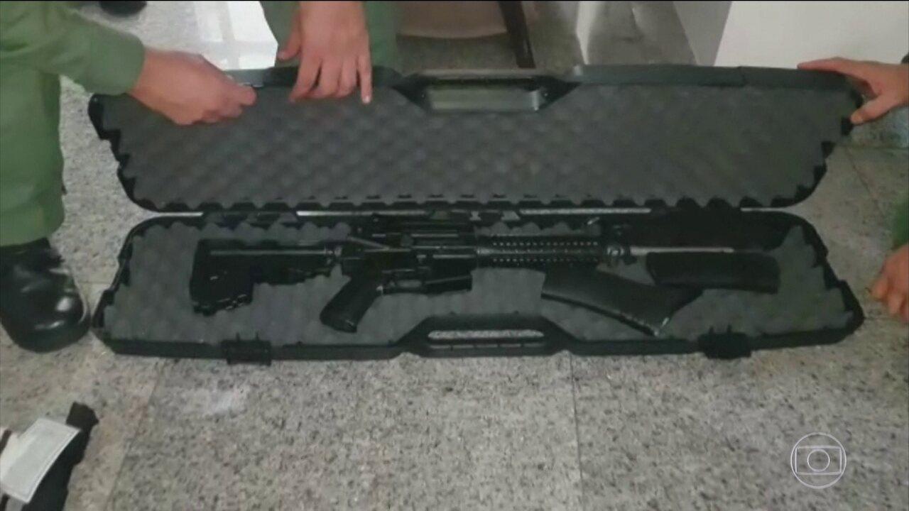 Polícia Militar de Goiás apreende armas e munição em apartamento em Goiânia