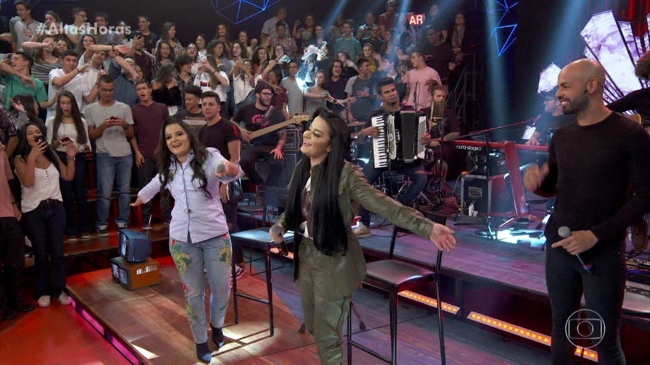 Maiara & Maraísa cantam 'Evidências'