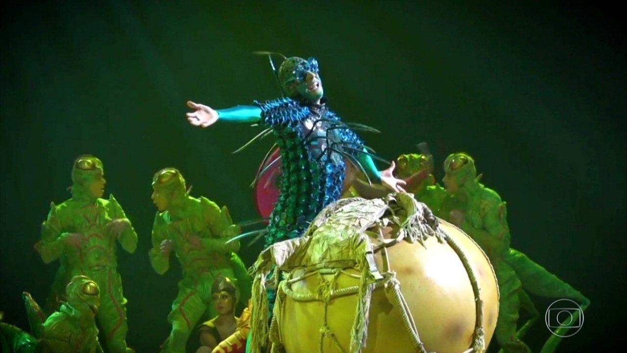Cirque Du Soleil chega ao Brasil com o espetáculo 'OVO', de Deborah Colker