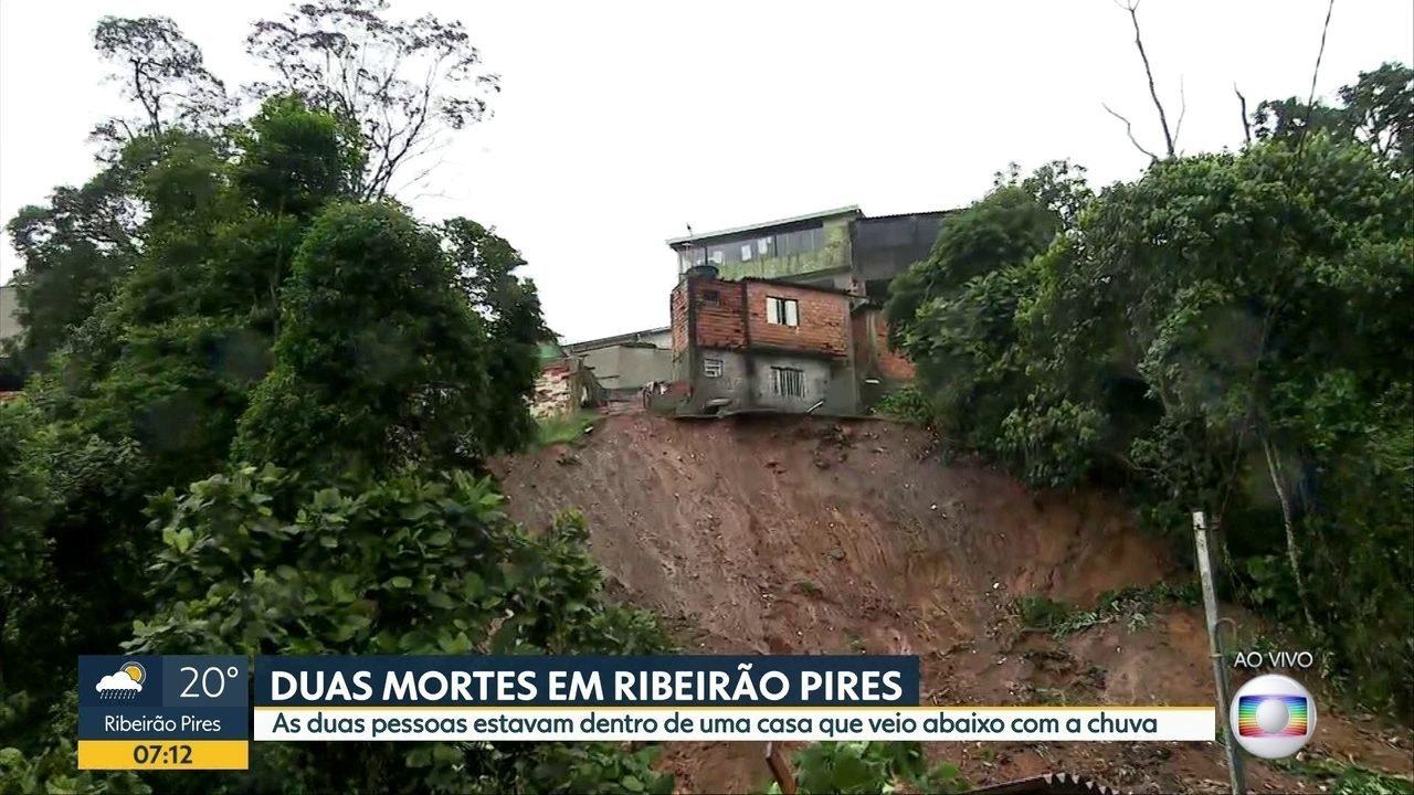 Duas mortes em Ribeirão Pires