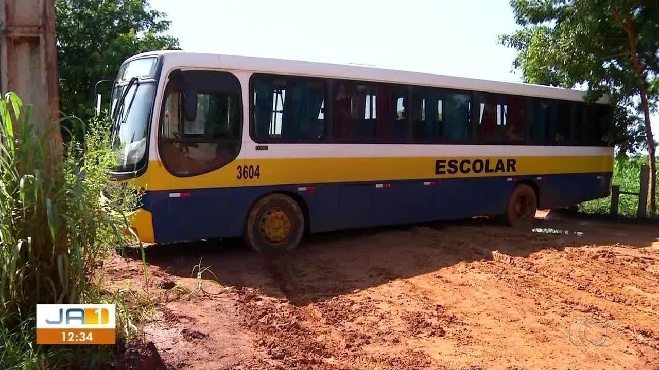 Secretário de Desenvolvimento Rural fala sobre estrada precária na Vila Agrotins