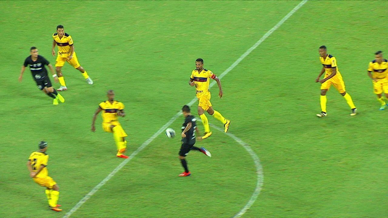 Melhores momentos de Botafogo 2 x 1 Madureira pela 3ª rodada da Taça Rio