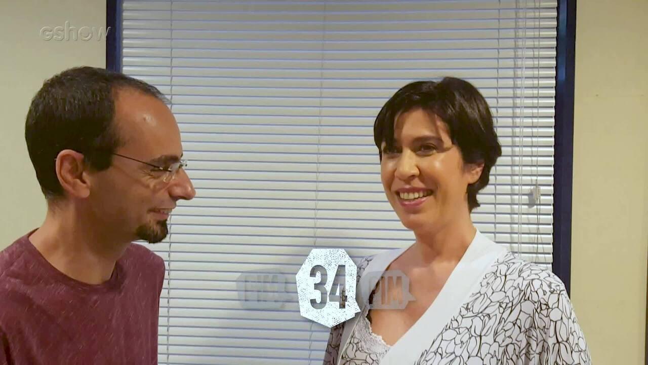 Maria Clara Gueiros participa da brincadeira do PIM
