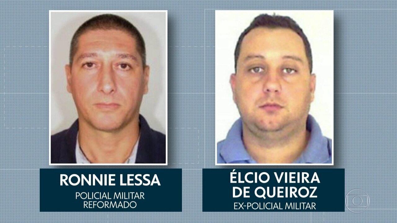 Dois ex-PMs acusados pela morte de Marielle e Anderson são presos