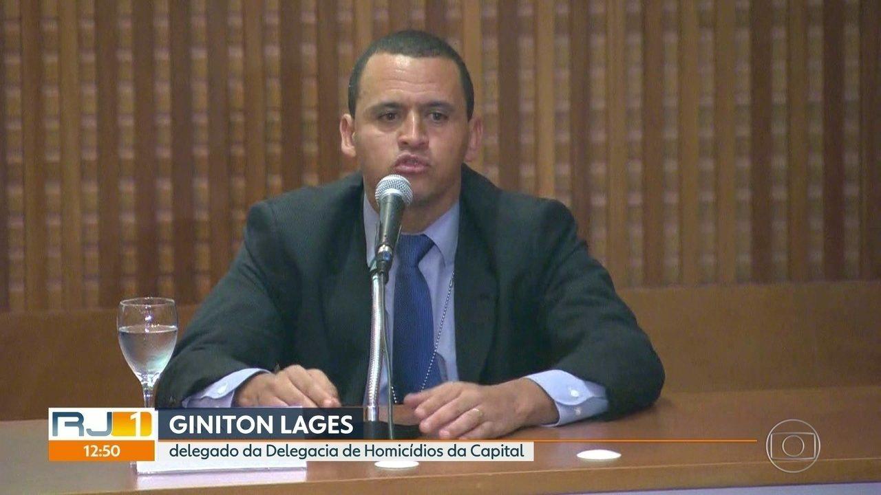 Delegado fala sobre pesquisas que Ronnie Lessa fez sobre Marielle