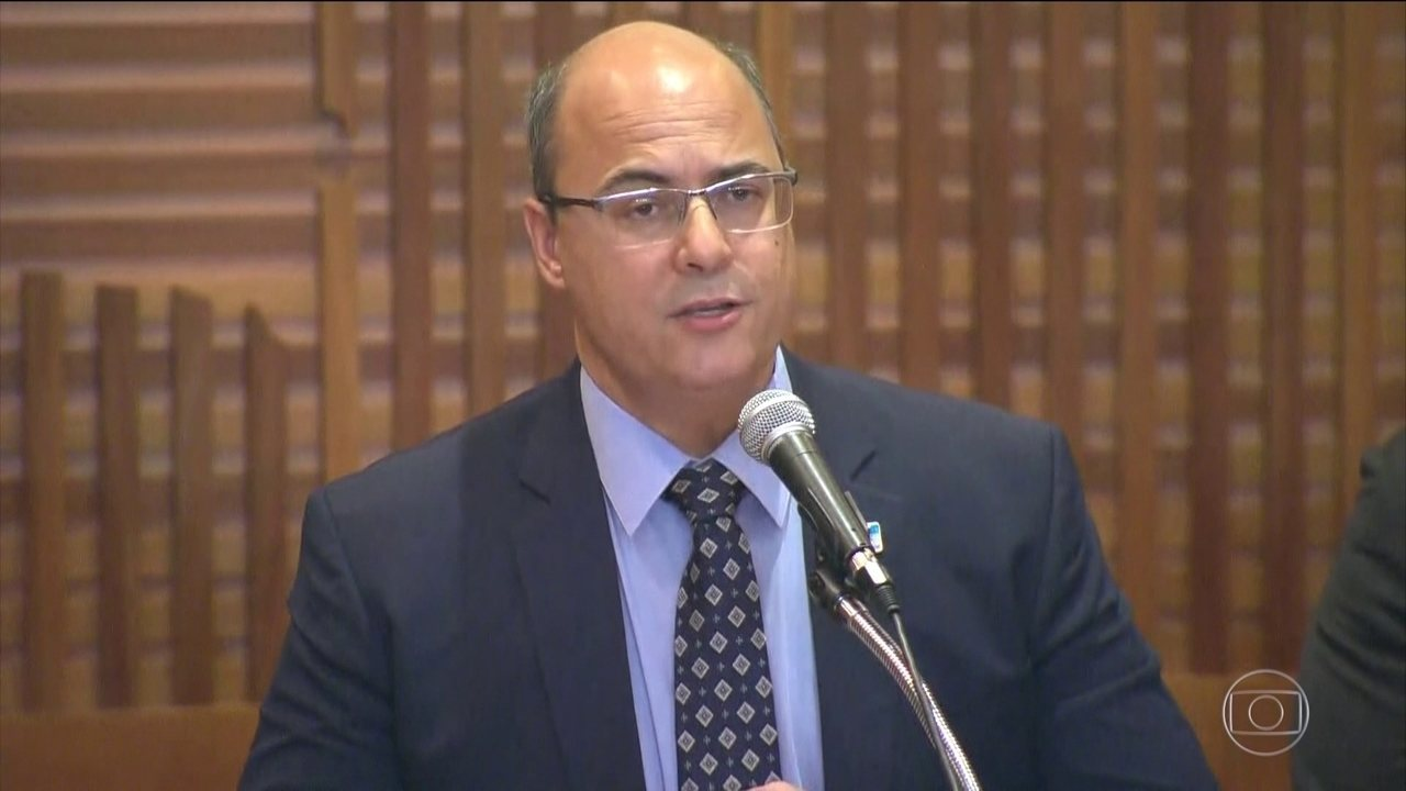 Governador Wilson Witzel e delegado do caso Marielle concedem entrevista coletiva