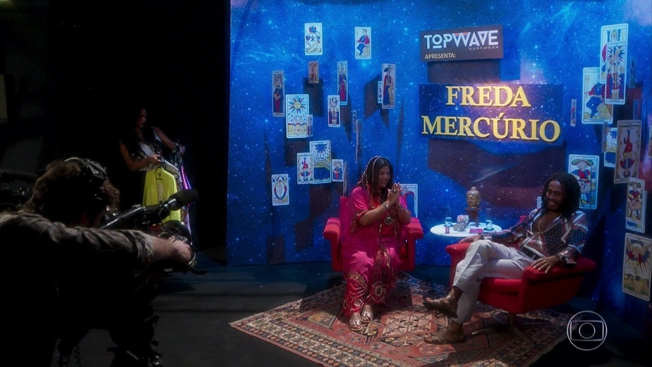 Freda Mercúrio tem Ticiano como convidado do seu programa