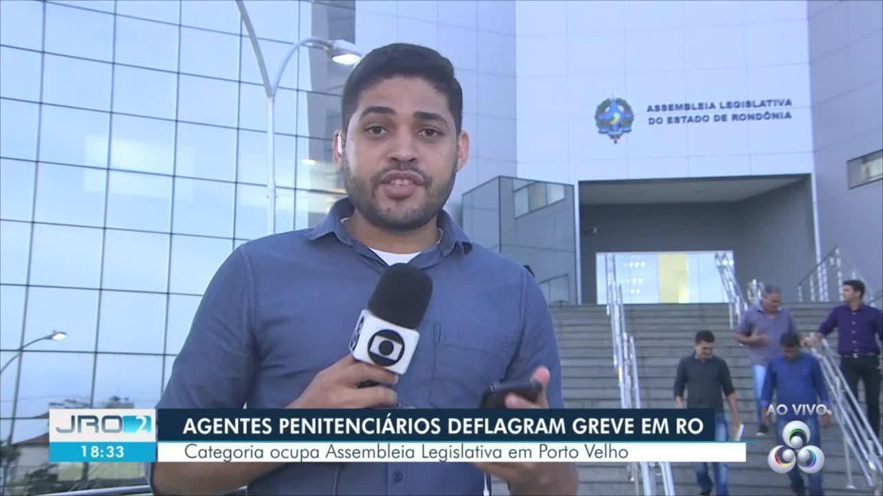 Agentes penitenciários deflagram greve em RO