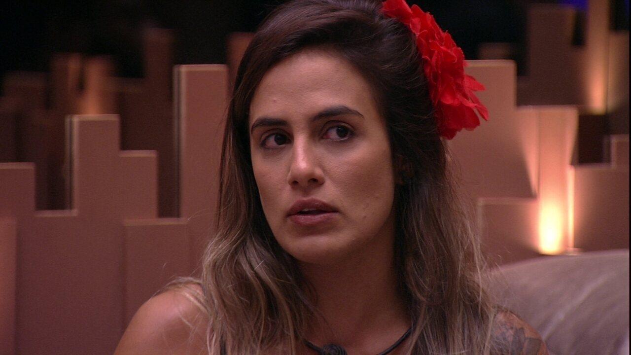 Carolina sugere compra de tilápia, mas Rodrigo e Elana alertam sobre preço da proteína