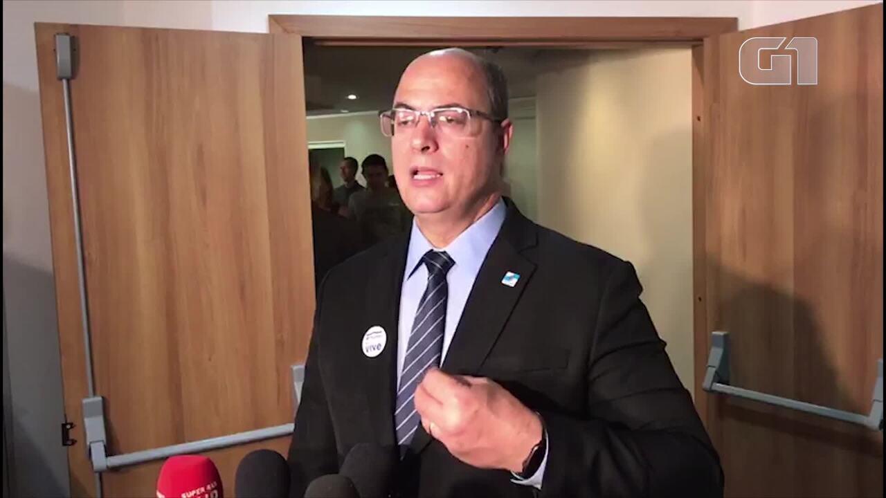 Witzel fala sobre afastamento de chefe da DH nas investigações do caso Marielle