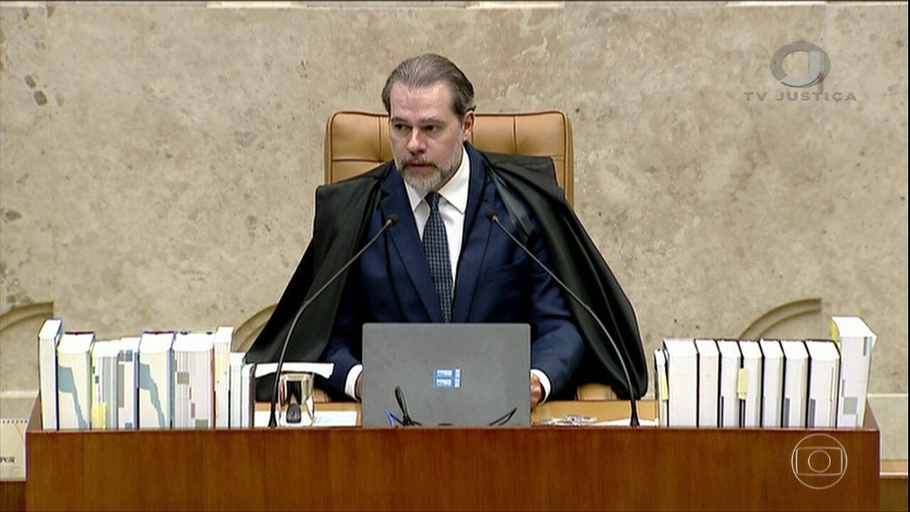 Dias Toffoli abre sessão na corte lamentando massacre em Suzano