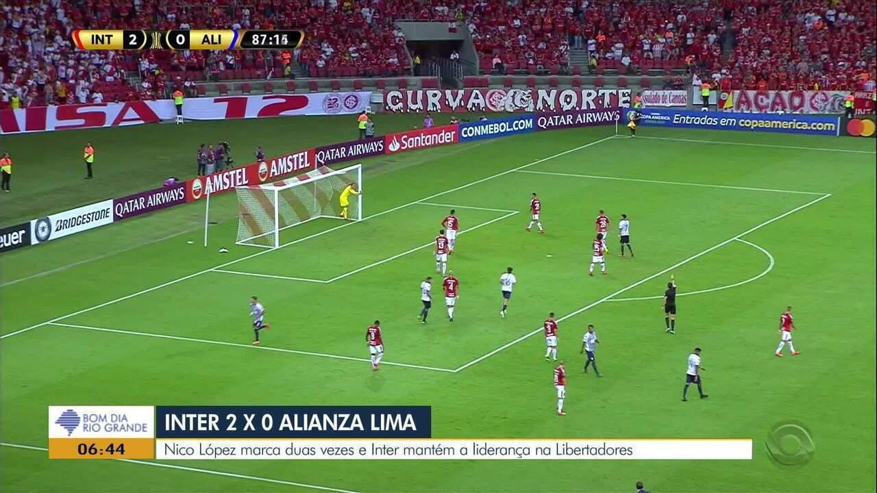 Inter tem segunda vitória seguida na Libertadores