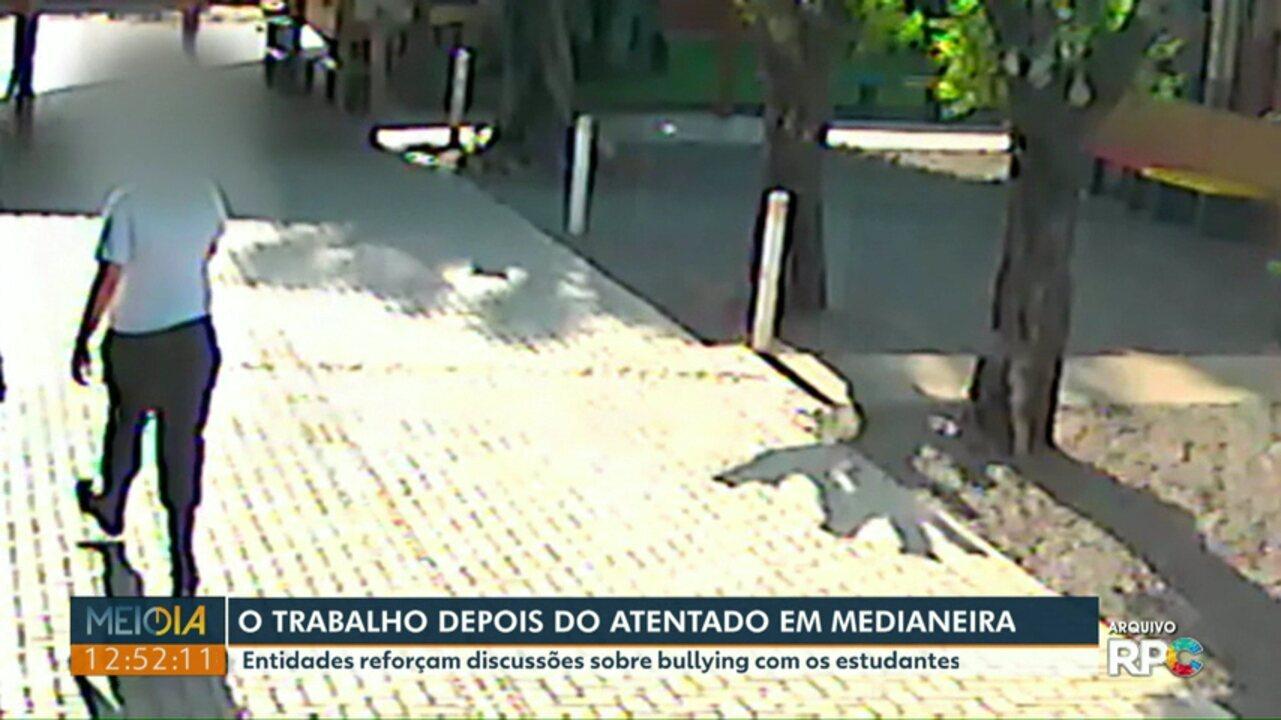 Após atentado, entidades reforçam discussões sobre bullying com estudantes de Medianeira